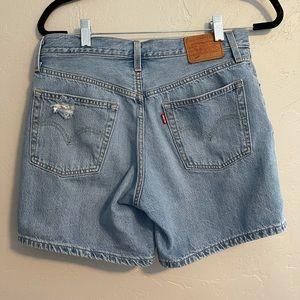 Levi's - 501 Mom shorts